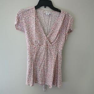 2/$20 Motherhood maternity blouse size S